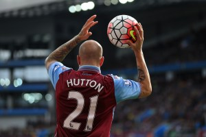 The Holte End waves goodbye to the man they call 'The Scottish Cafu'