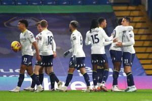 Aston Villa draw with Chelsea in tight affair