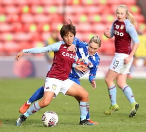 Iwabuchi stars as Aston Villa Women pick up first home point