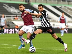 Aston Villa labour to draw after last-gasp goal for Newcastle