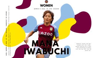 Our Women's Goal of the Season: Mana Iwabuchi (vs. Spurs)