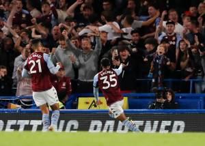 Youthful Villans give Chelsea scare as tie ends with home penalty win