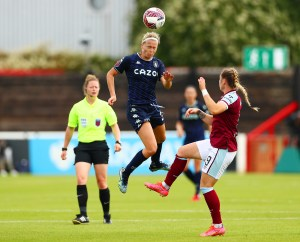 Late goal secures a point for Aston Villa Women against the Hammers