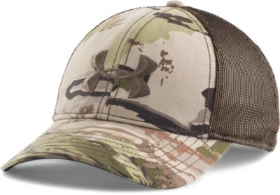 Hat Armour Under Youth Camo