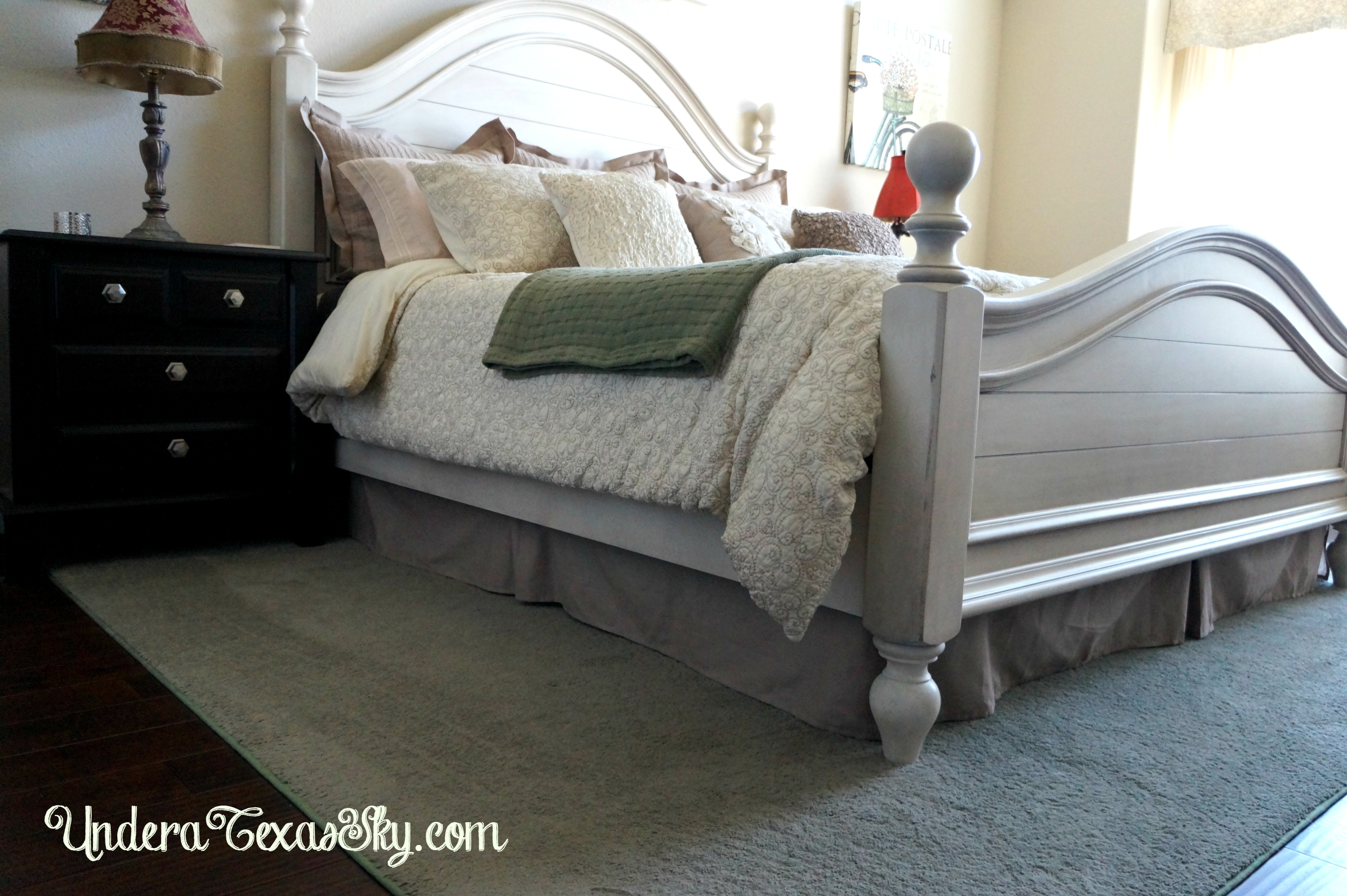 using a bedskirt with an adjustable bed
