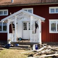 Veranda renovering