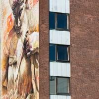 """Borås staden som galleri """"No limit street art"""""""