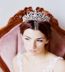 Bridal Tiara, Swarovski Crystal Tiara