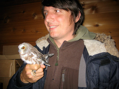 Me + rather cute owl!