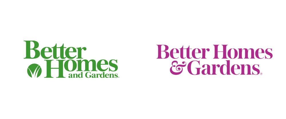 Brand New: New Logo For Better Homes &Gardens By Lippincott