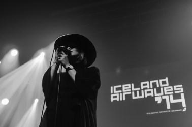 Lára Rúnars, Iceland Airwaves 2014, day 1, Harpa, Reykjavik