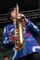 Booka Brass Band, Féte de la musique, Centre Culturel Irlandais, Paris 2015 live ©Caroline Vandekerckhove