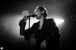 Savages Jehnny Beth (Camille Berthomier) live 2016 Down the rabbit hole Beuningen the Netherlands © Caroline Vandekerckhove