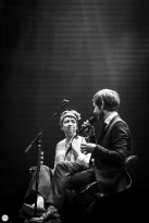 the divine comedy, Neil Hannon and Lisa O'Neill live 2017 Paradiso Amsterdam © Caroline Vandekerckhove