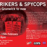 Strike to #spycops