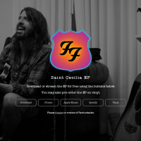 EP (Free Download): Saint Cecilia by Foo Fighters