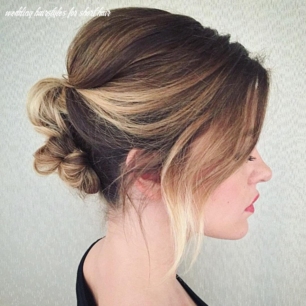"""10 Best Short Wedding Hairstyles That Make You Say """"Wow!"""""""