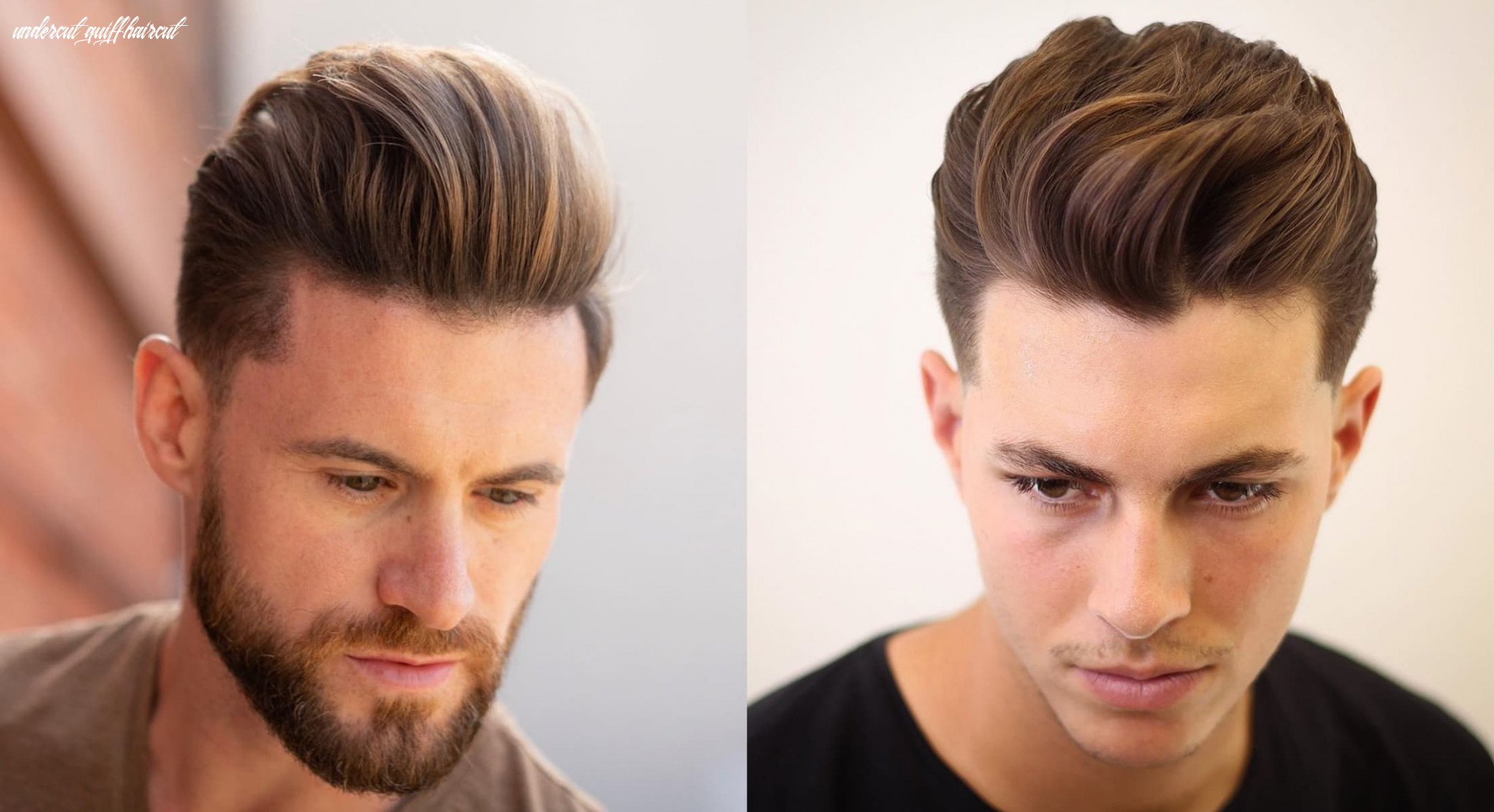 10 Gorgeous Quiff Hairstyles For Men Of All Ages | StylesRant