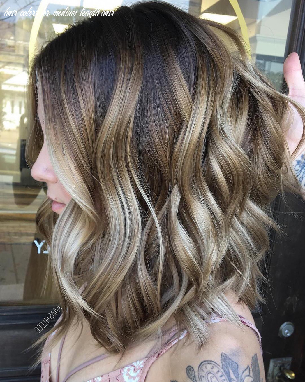 11 Ombre Balayage Hairstyles for Medium Length Hair, Hair Color 11