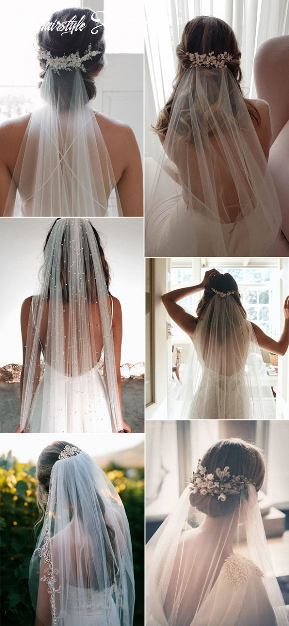 12 Classic Wedding Hairstyles that Work Well with Veils ...