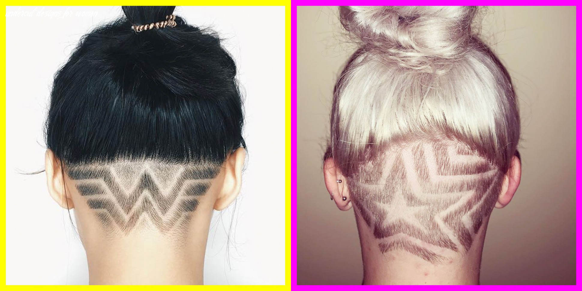 12 Undercut Designs and Hairstyles for 1212