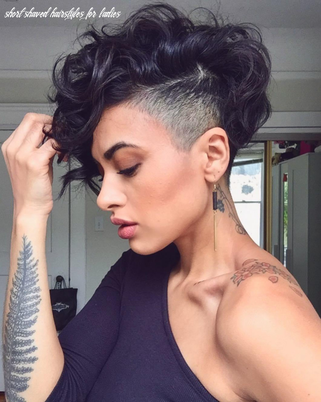 8 Bold Shaved Hairstyles for Women   Shaved Hair Designs