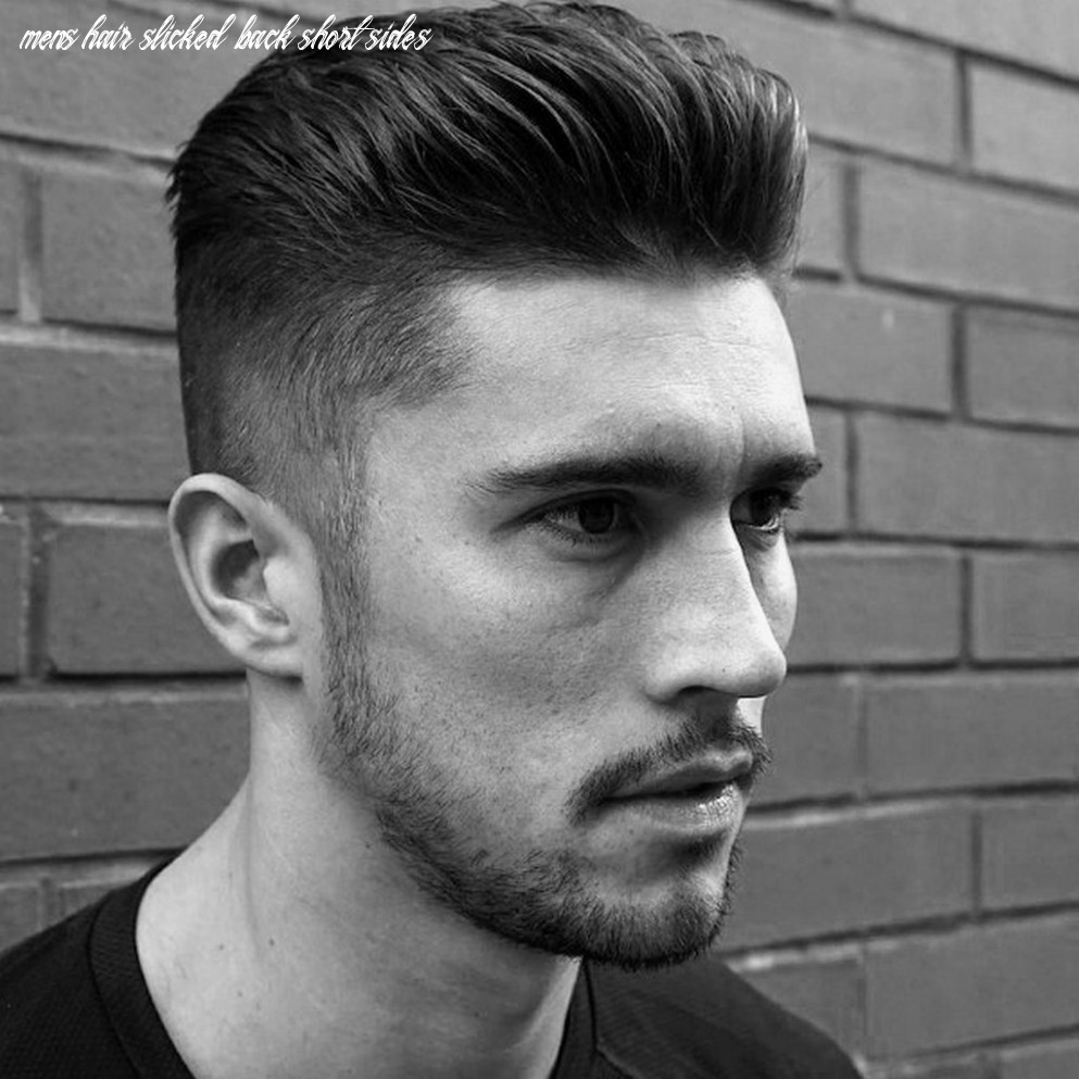 8 Most Attractive Slicked Back Hairstyles for Men - Haircuts ...