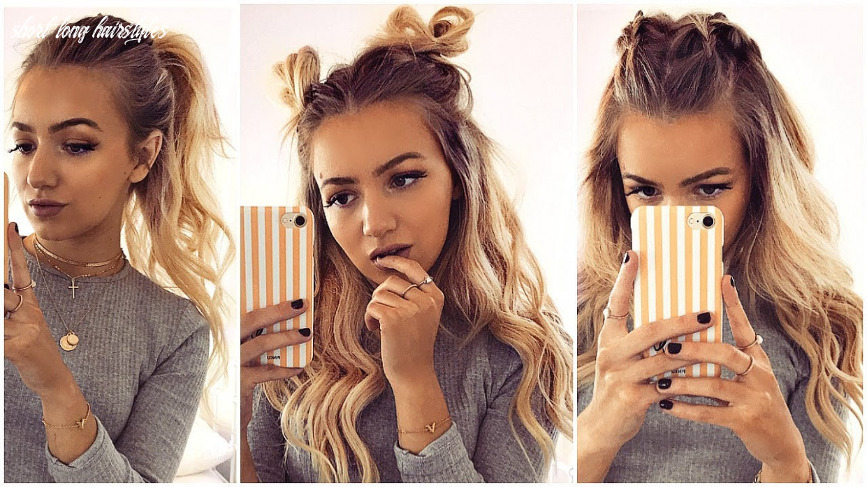 8 QUICK AND EASY HAIRSTYLES FOR LONG AND SHORT HAIR