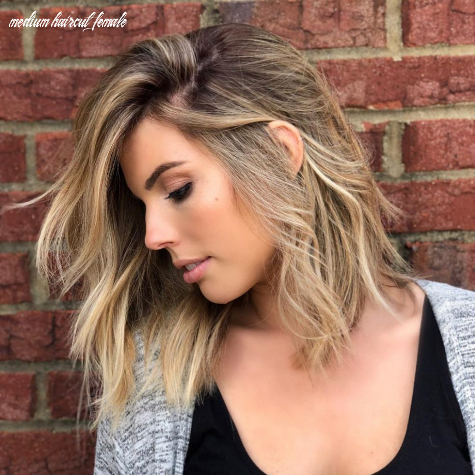 9 Medium Hairstyles For Oval Faces in 9