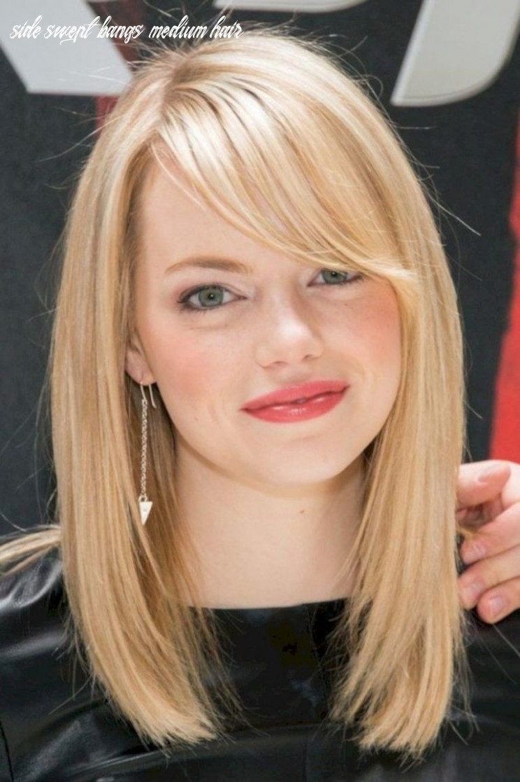 Amazing Hairstyles with Side Swept Bangs 10 | Bob hairstyles for ...