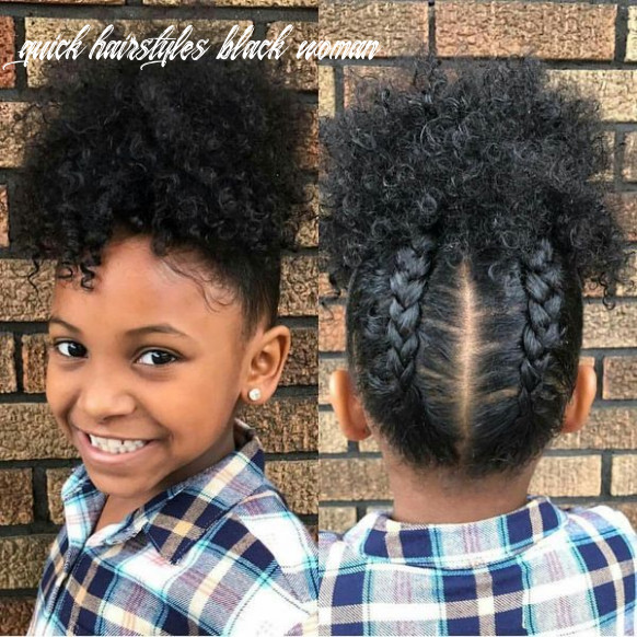 Cute Simple Hairstyles For Black Women