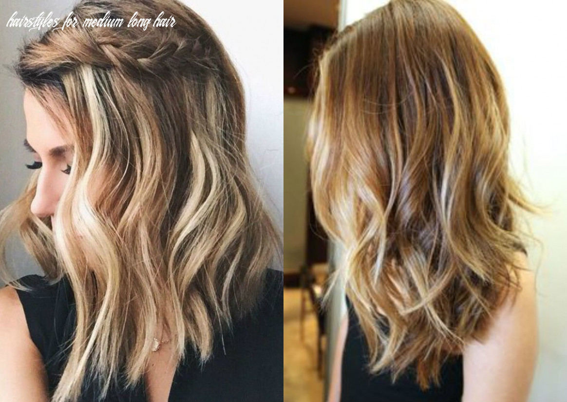 Discover great ideas for medium-length haircuts and hairstyles