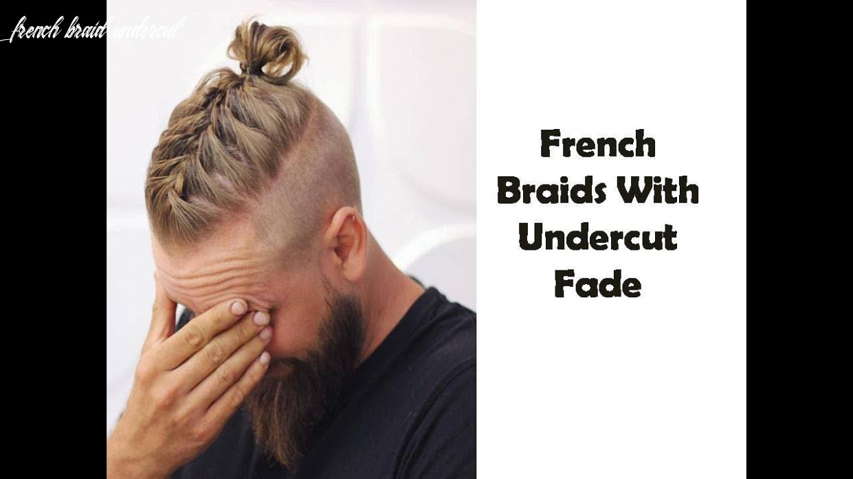French Braids With Undercut Fade - YouTube