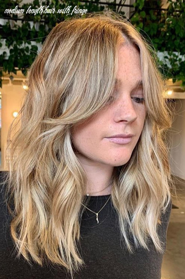 Medium Length Hairstyles With Long Bangs | Find your Perfect Hair ...