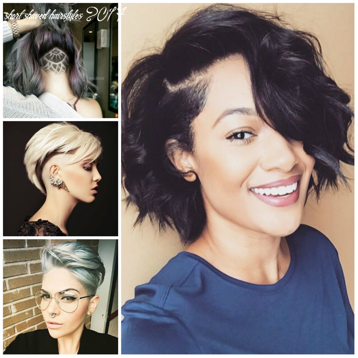 Sassy and Edgy Shaved Hairstyles for Females | 10 Haircuts ...