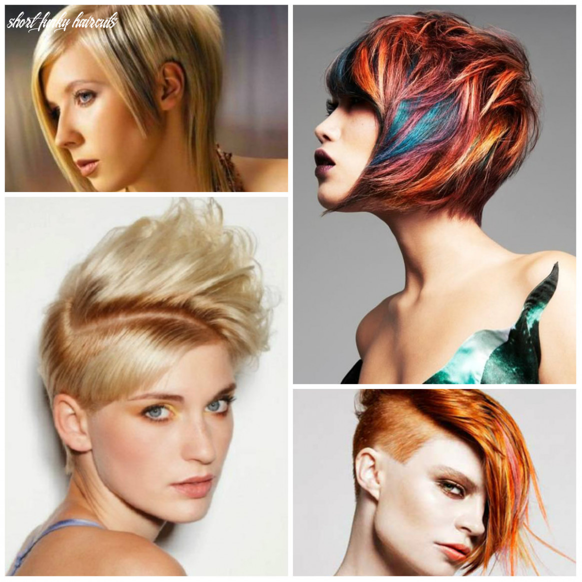 Short Funky Haircut Ideas for 10 - hairstyleto