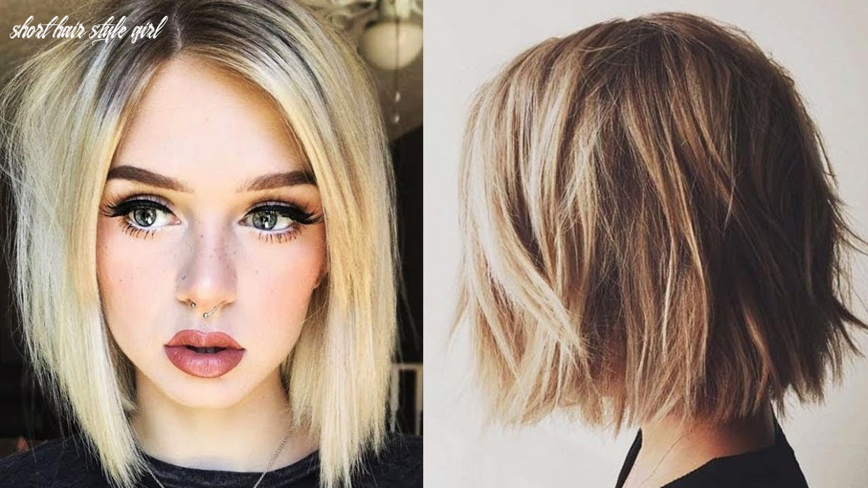 Top 10 Hair Cutting & Transformations for Girls ? Hairstyle for Short Hair    Hair Beauty