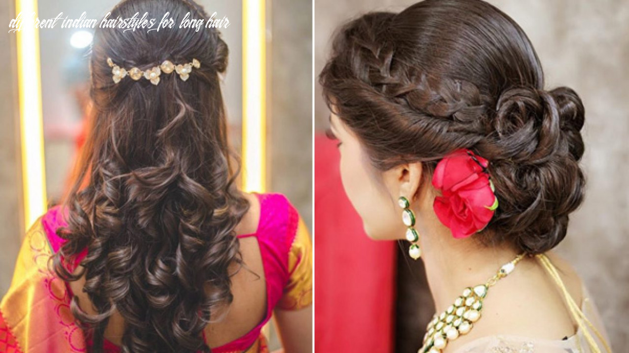 Top 9 Simple And Sleek Indian Hairstyles For Curly Hair   Indian ...