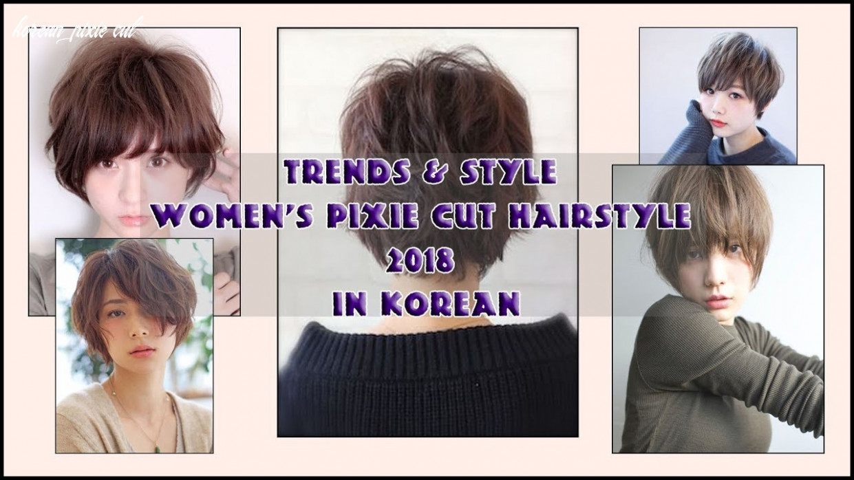Trends & Style Women's Pixie Cut Hairstyle 9 in Korean