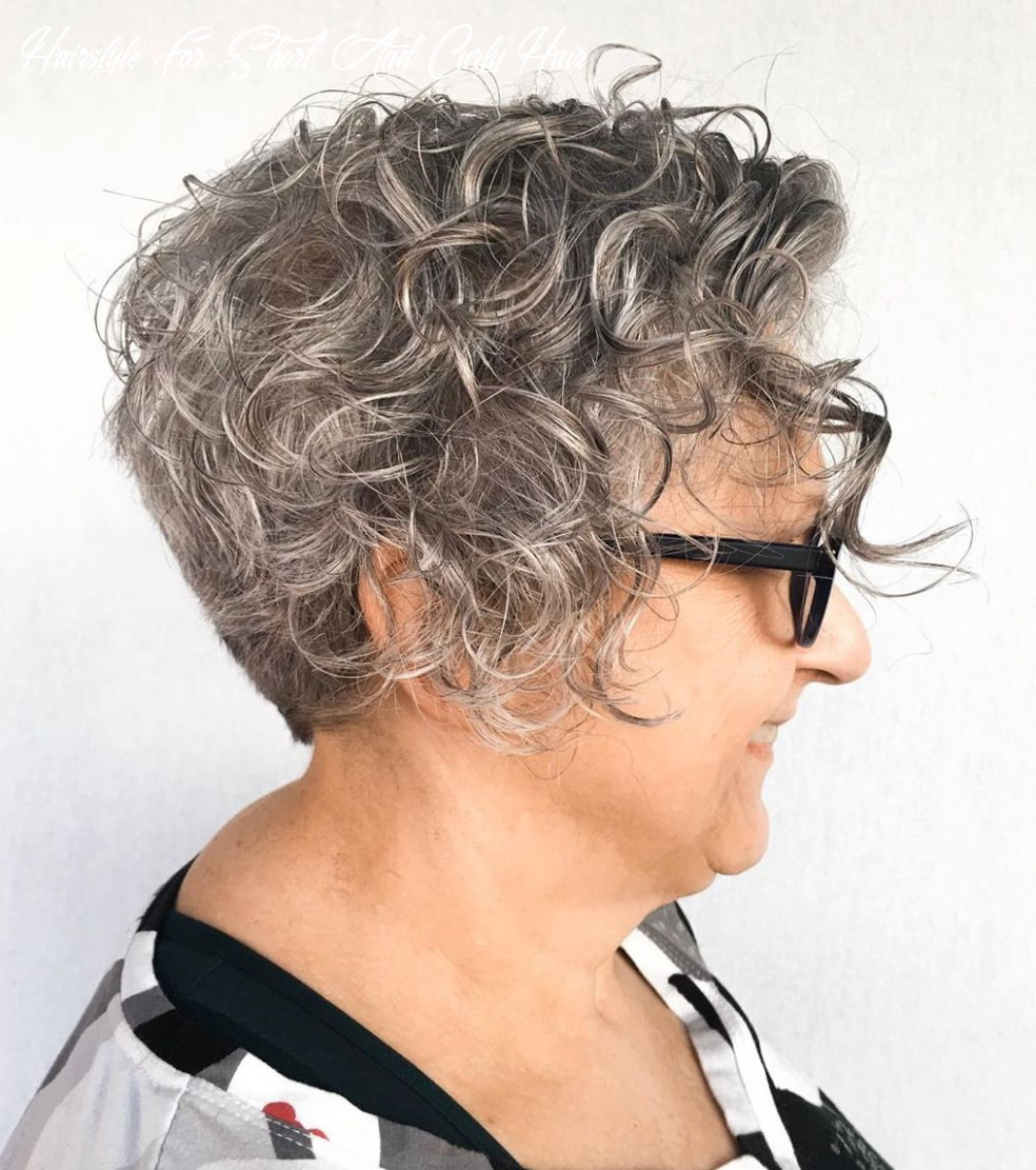 10 Best Haircuts and Hairstyles for Short Curly Hair in 10 ...