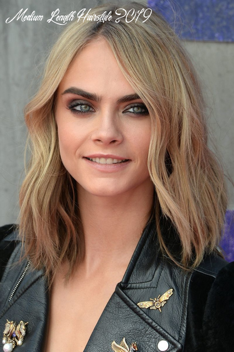 10 Medium Length Hairstyle Trends You Need For 1019   Short Hair ...