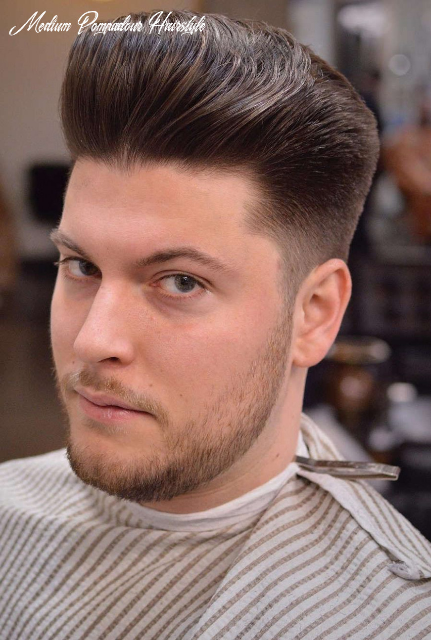 10 Pompadour Hairstyle Variations + Comprehensive Guide   Mens ...