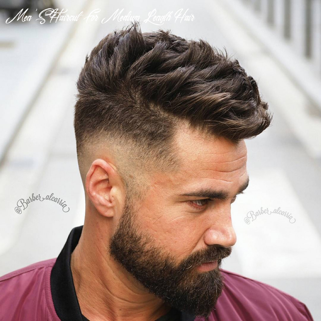 11 Best Medium Length Hairstyles and Haircuts for Men ...