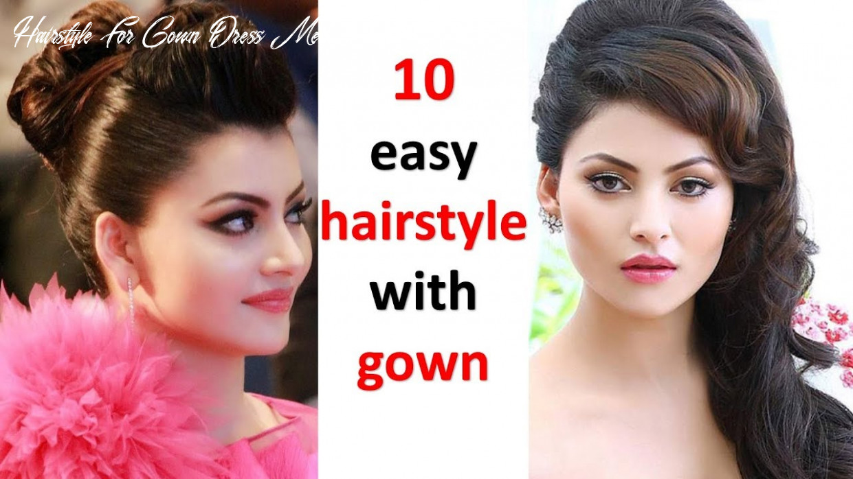 11 different and easy hairstyles with gown | hairstyle for girls | ladies  hairstyle | cute hairstyle