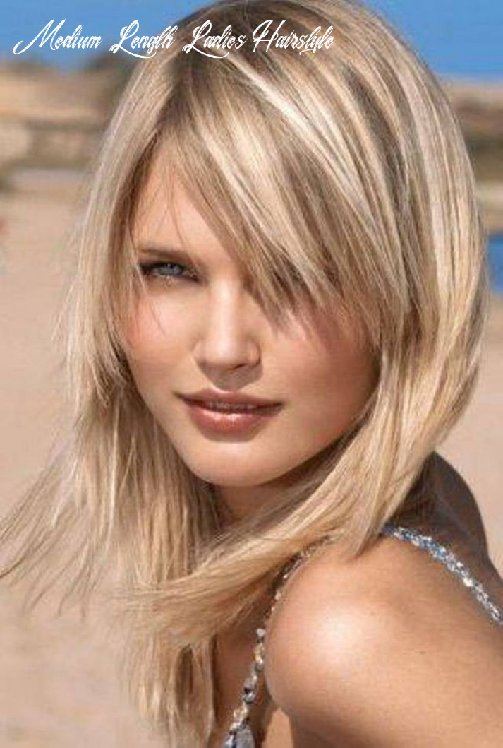 11 Easy and Flattering Shaggy Mid-length Hairstyles for Women ...
