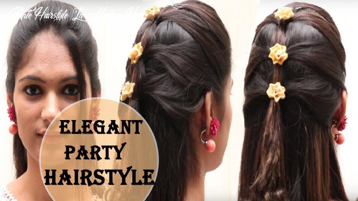 12 Easy Rules Of Simple Hairstyle For Party | Medium hair styles ...