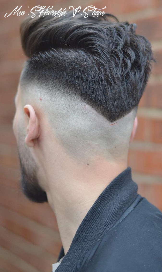 8+ Hot V-Shaped Neckline Haircuts for an Unconventional Man