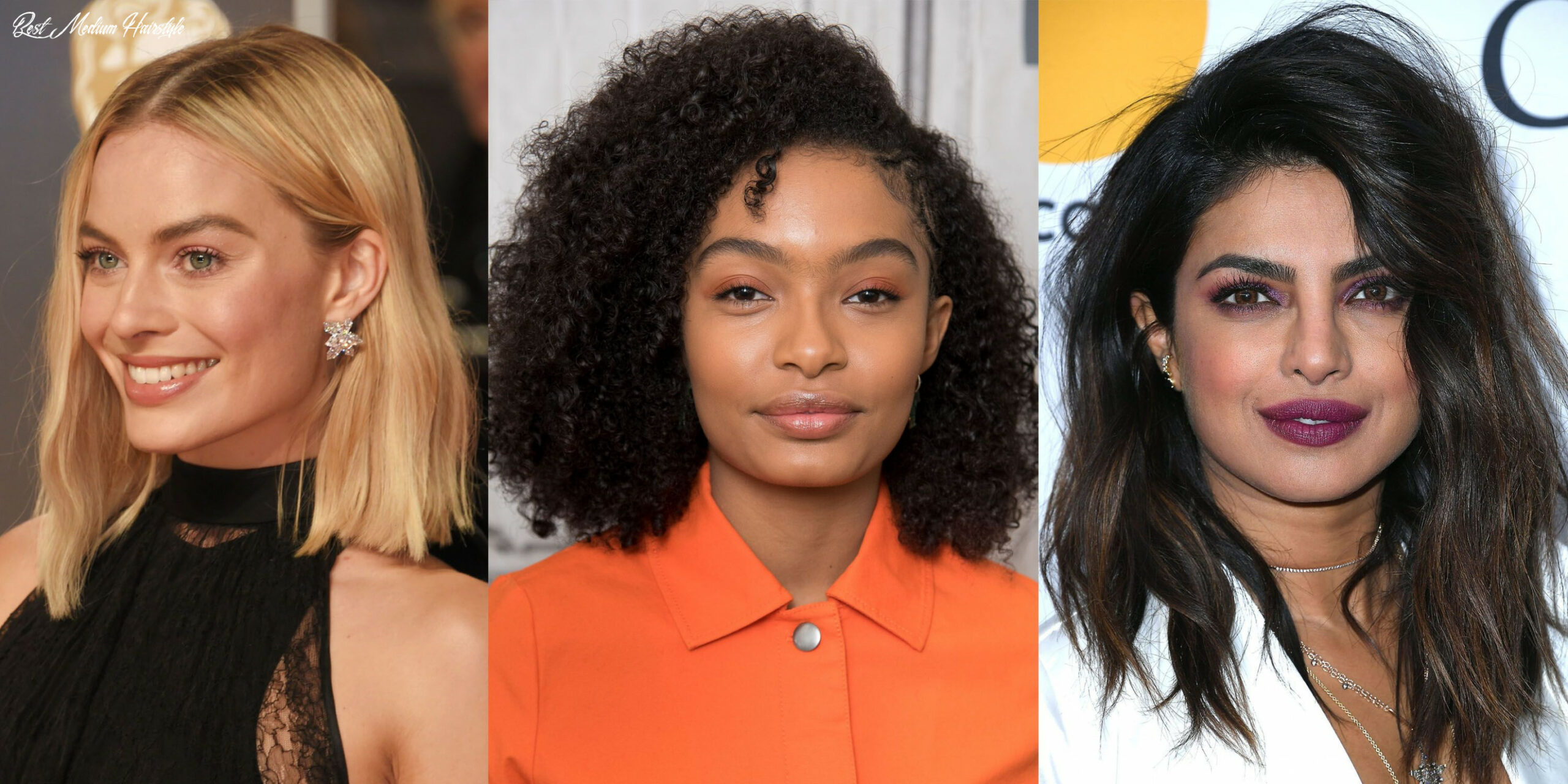 9 Best Medium Hairstyles - Celebrities With Shoulder Length Haircuts