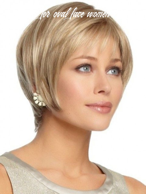 9 Breathtaking Short Hairstyles for Oval Faces – With Curls ...