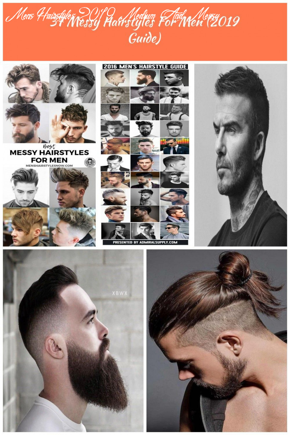 Best Messy Hairstyles For Men: Cool Men's Short, Medium and Long ...